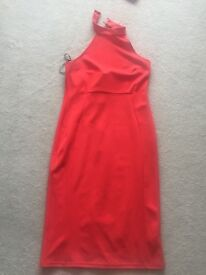 Red dress from new look