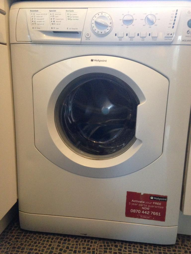 Hotpoint 6k washing machine for sale £50 ovno