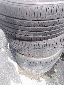 P205/55R16x4 BRIDGSTONE TURANZA RUN FLAT USED (BMW 3SERIES) 91H for sale