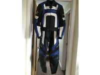 Nearly new RST ladies motorcycle two piece leathers size 12