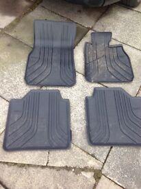 Bmw 3 series GT rubber mats genuine bmw