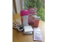 Veet Easywax Electrical Roll On Kit + 2 refills+ strips and wipes