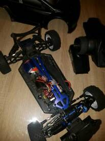 RC rally car Himoto