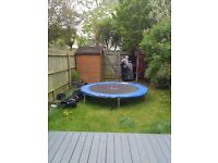Plum 8' trampoline with enclosure £40 ONO