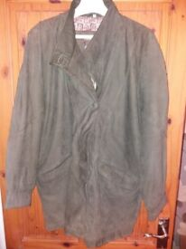 Mens lovely soft suede or suede style jacket