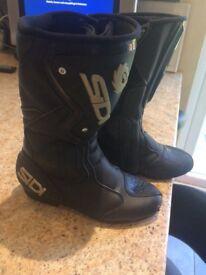 sidi motorbike boots -size 3