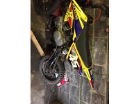 Yx 140 pitbike