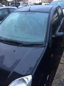 Ford Fiesta Zetec 1.4 Black 2005