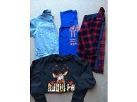 Boys clothing bundle- like new - age 6/7