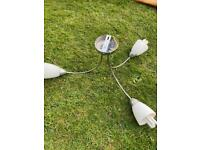 Light fitting with bulbs