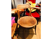 Vintage Bentwood chair with arms , great shape . Good solid chair . Feel free to view.