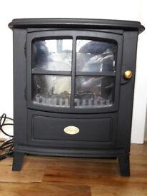 Dimplex BFD20N Freestanding Fan Heater Brayford Optiflame Fire