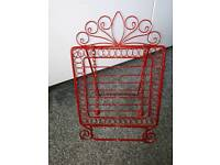 Red recipe holder excellent condition £5.00