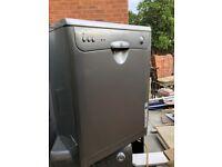 Indesit Dishwasher Brand New D66 - grey bargain RRP£259.99