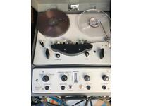 Brenell reel to reel Valve tape recorder.