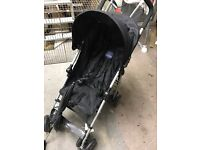 excellent condition buggy stroller pushchair with sun umbrella