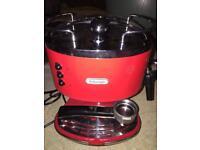 DeLonghi Icona Vintage Coffee Machine + extras