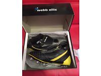 Rugby boots, size 9