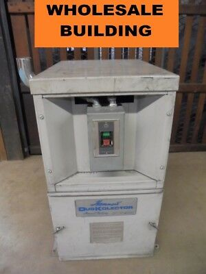 Hammond Fdk-4 Duskolector 700 Cfm 4000 Fpm 230 Volts Dust Collector