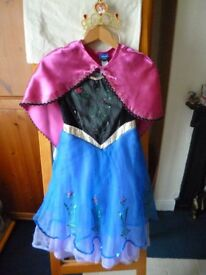 Anna from Frozen Fancy dress age 5-6 yrs BOOK DAY March 1st