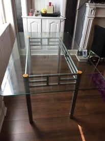 Glass dining table for sale cheap need gone asap