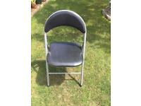 Pair of fold up chairs £6.00