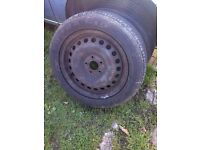 MONDEO WHEELS AND TYERS 205 / 55 R16