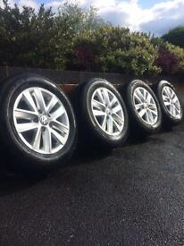 VW Caddy alloys