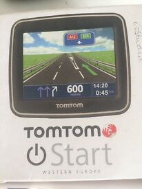 Tom Tom GPS in box