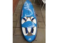 Beginner / Intermediate Starboard Carve 131 Freeride Windsurf Board kit bundle