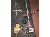 2 Petrol Strimmers spares or repairs