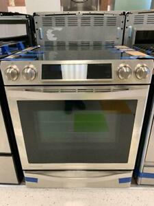 FRENCH DOORS STAINLESS STEEL SAMSUNG FRIDGES & STOVES--SCARBOROUGH