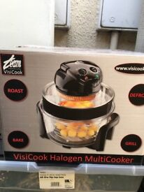 HALOGEN COOKER QUICK COOKING APPLIANCE USED ONCE