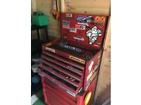 Classic Snap on Tool Chest + Generic tools