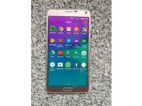 Gold galaxy note 4