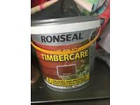 Ronseal fence paint red cedar