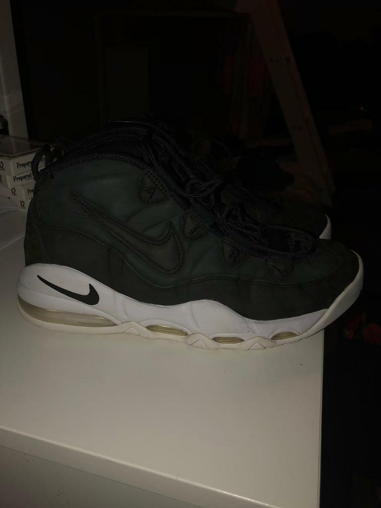 buy online 96f86 68e6f Nike Air Max Uptempo 95 basketball shoes black white size UK8 £30 | in  Southside, Glasgow | Gumtree