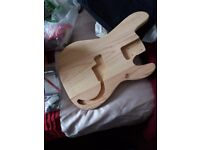 Unfinished guitar project