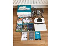NINTENDO WII U -** IMMACULATE**BOXED**+DISNEY INFINITY 3.0 + GAMES**HARDLY USEd