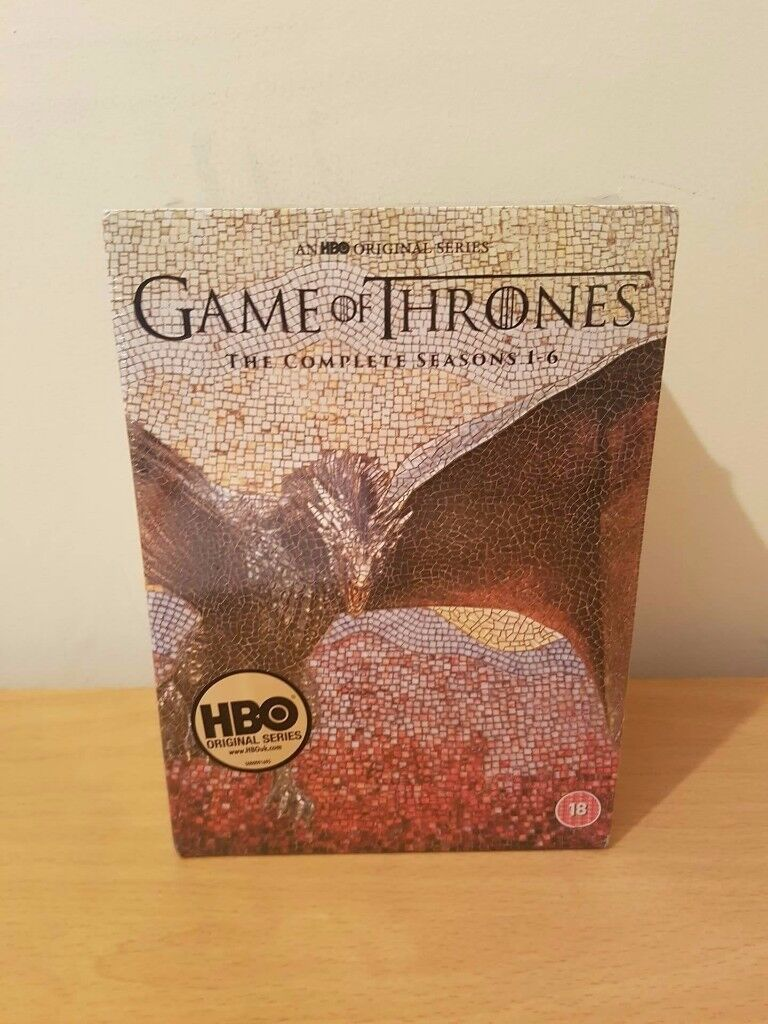 GAME OF THRONES SEASONS 1-6 DVDs NEW BOX SET