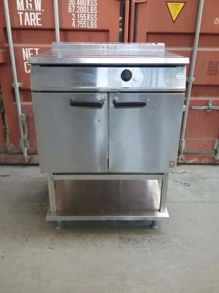 falcon NATURAL GAS commercial oven with fixed stand for restaurant and catering