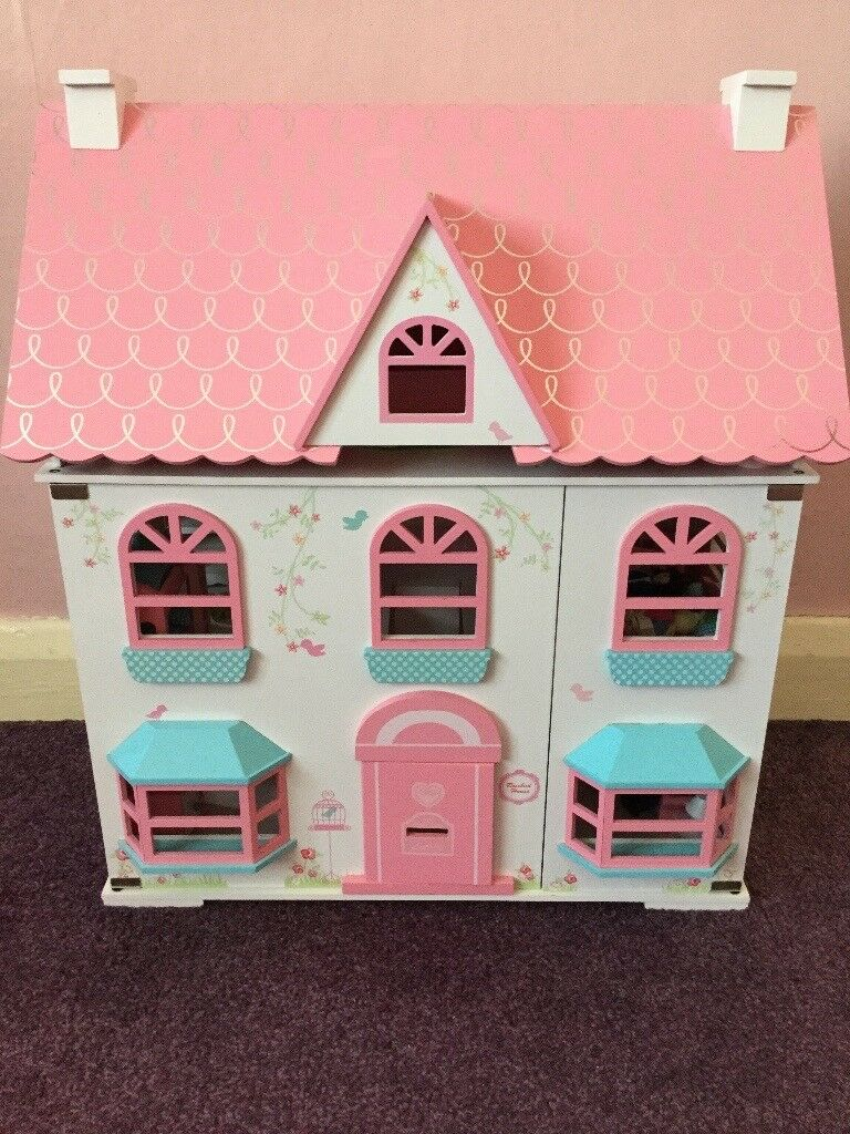 Beautiful Early learning centre rosebud dolls house and furniture. £25 ovno