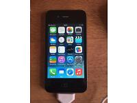 Apple iPhone 4 and charger 16gb