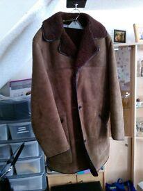 Men's Genuine Sheepskin 3/4 coat