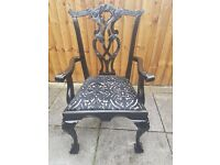 Refurbished dining chairs