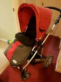 Britax Vigour 4+ Push Chair Buggy cw Cosy Toes