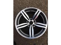 Bmw m6 genuine rear wheel