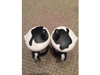 Child's beaker cow design