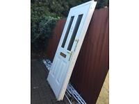 Upvc composite door and frame