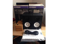 HS50 YAMAHA NEW CONDTION MONITOR SPEAKERS